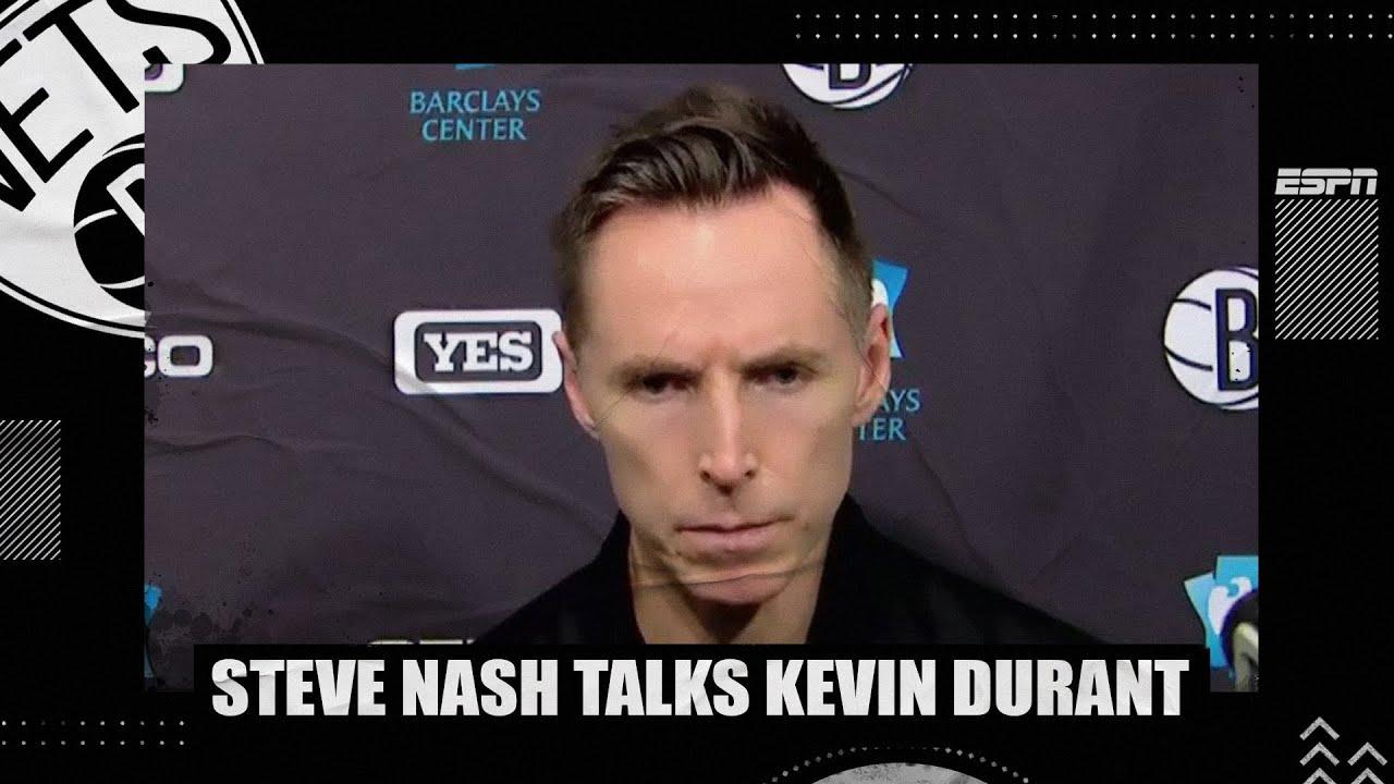 Steve Nash opens up on Kevin Durant situation after loss to Raptors   NBA on ESPN