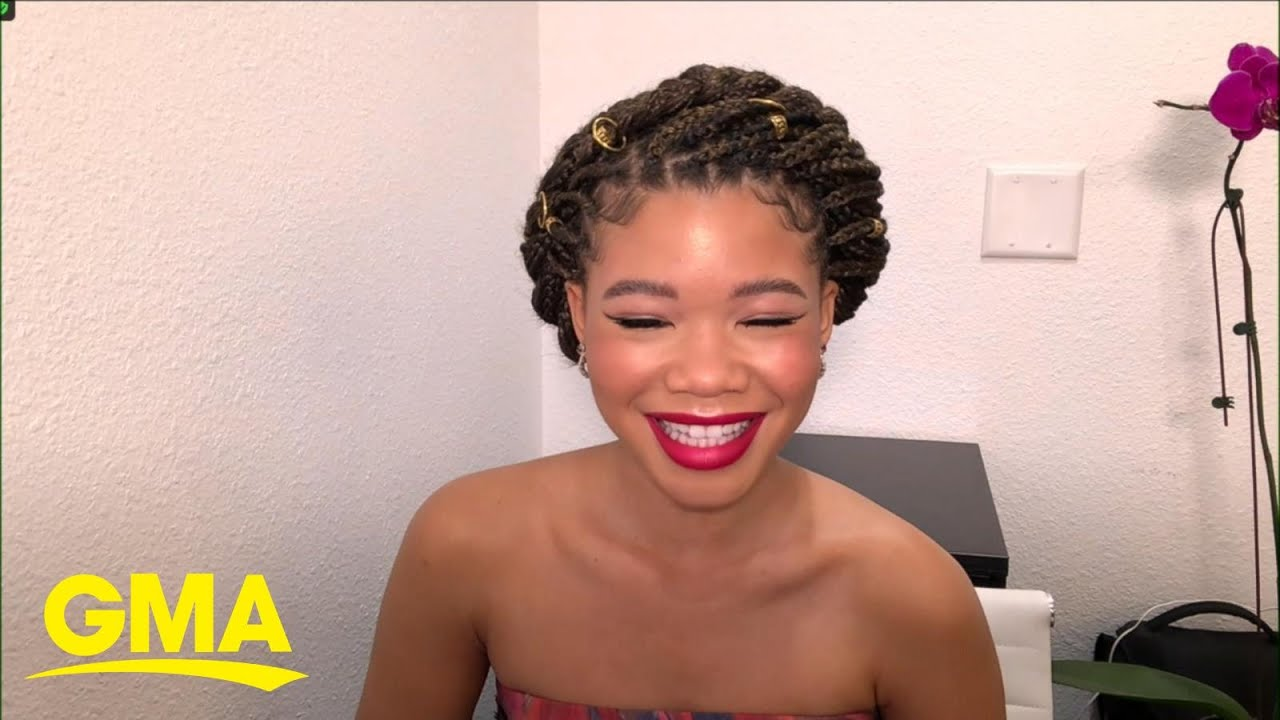 Storm Reid dishes on 'Chop It Up'