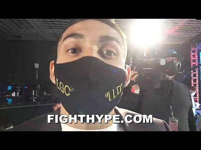 """TEOFIMO LOPEZ REACTS TO RICHARD COMMEY KNOCKING OUT MARINEZ IN 6; WARNS """"FAN BOYS"""" EX-FOE THE TRUTH"""