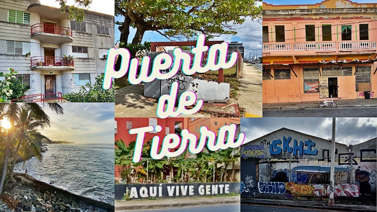 Walking Tour of the FIRST Neighborhood Outside the Walls of San Juan Puerto Rico!! Puerta De Tierra