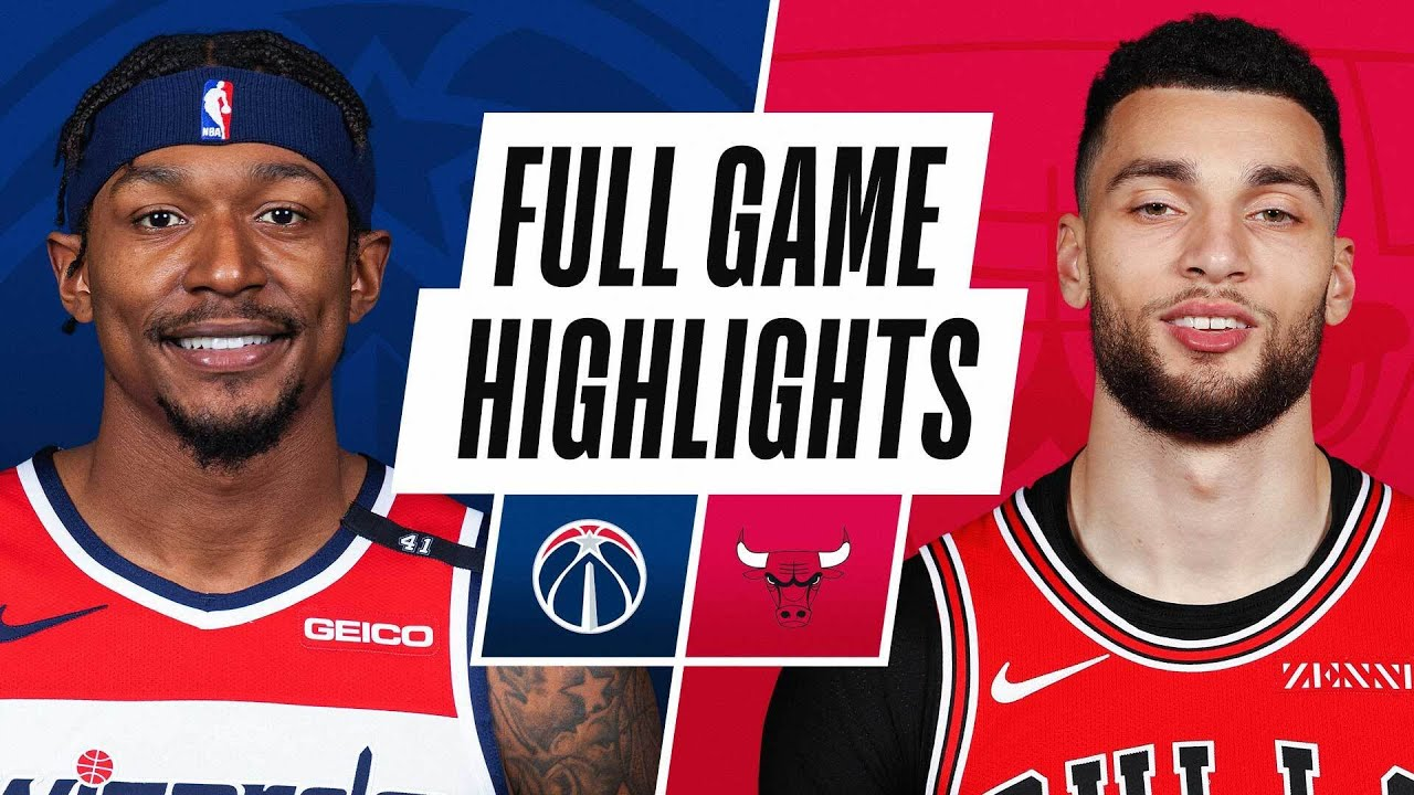 WIZARDS at BULLS   FULL GAME HIGHLIGHTS   February 8, 2021