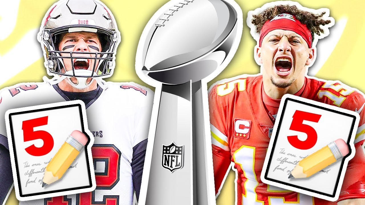 5 Reasons Why The BUCS Will WIN Super Bowl 55…and 5 Reasons Why The CHIEFS Will WIN (WHO YA GOT?)