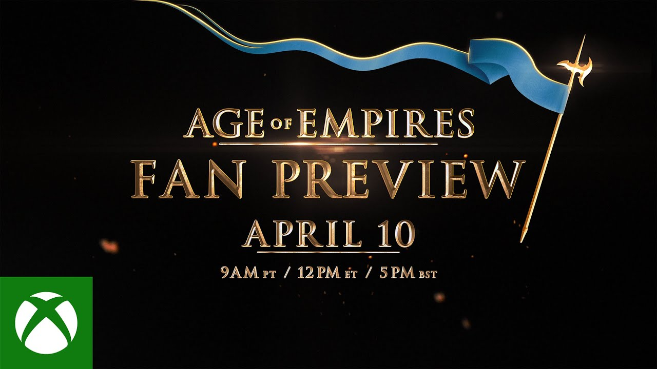 Age of Empires: Fan Preview – Tune In Trailer