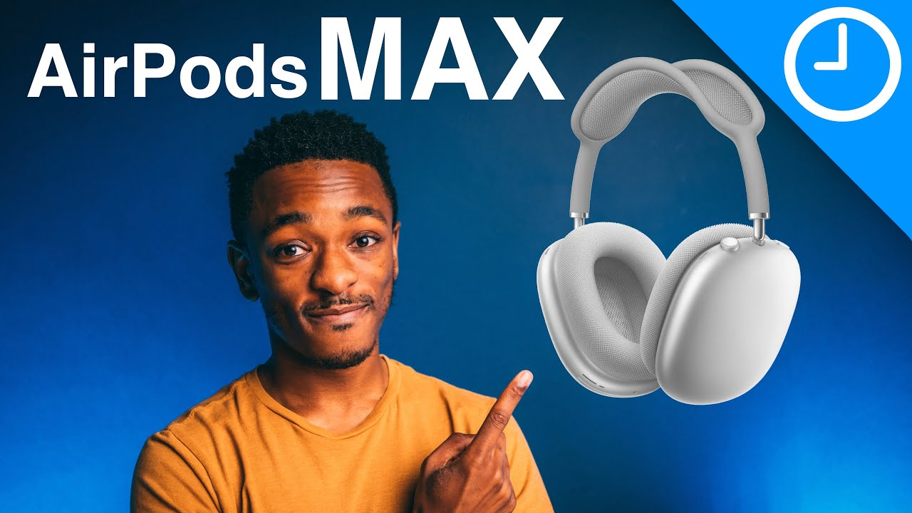 AirPods Max Over-Ear Headphones Unveiled! Everything you need to know.
