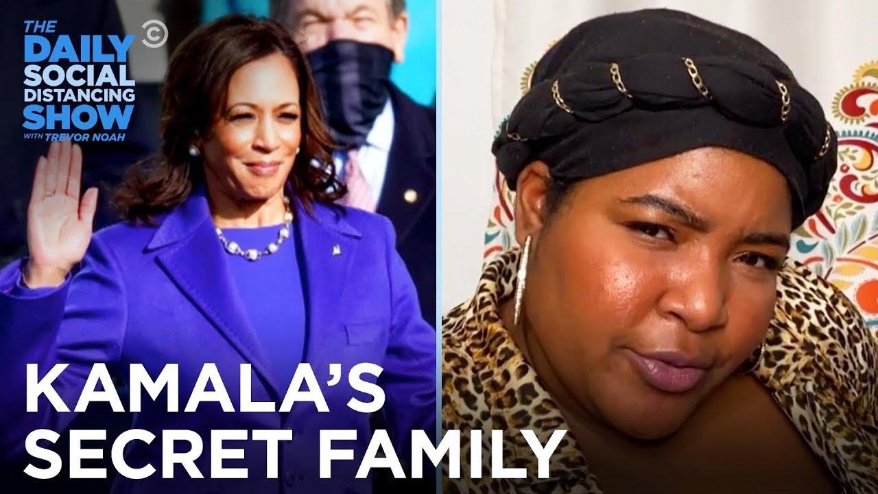 Alpha Kappa Alpha: Kamala Harris's Other Family | The Daily Social Distancing Show