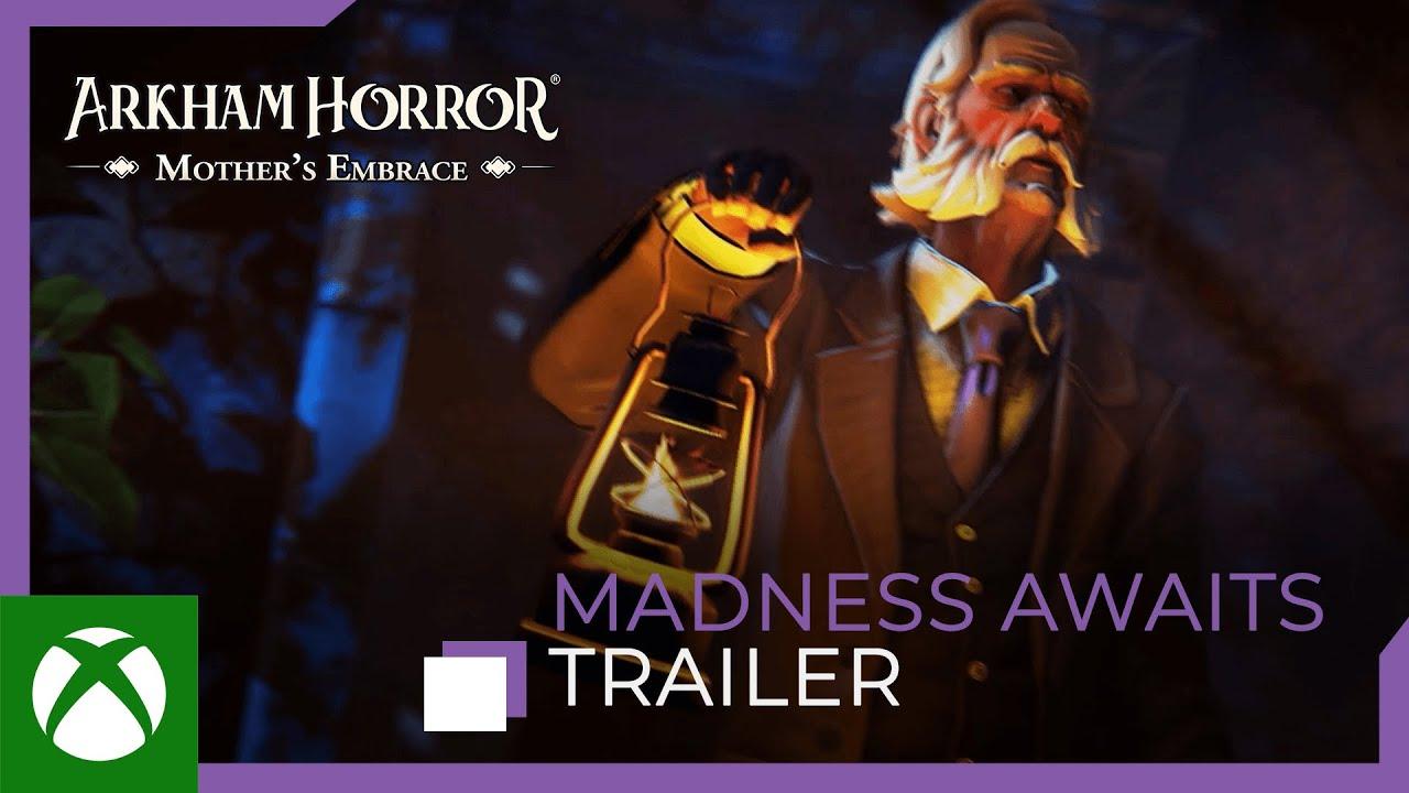 Arkham Horror: Mother's Embrace – Madness Awaits Trailer