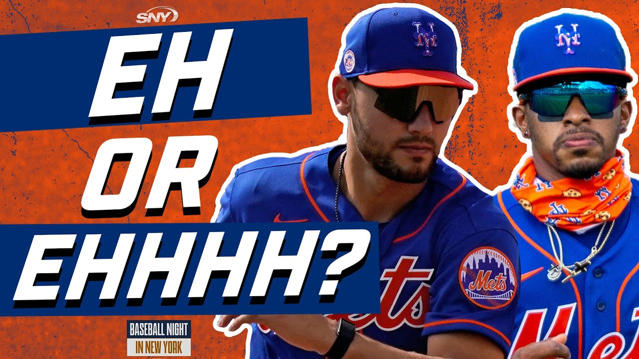 BNNY plays 'Eh or Ehhhh' with Lindor, Conforto, and the Yankees starting rotation | SNY