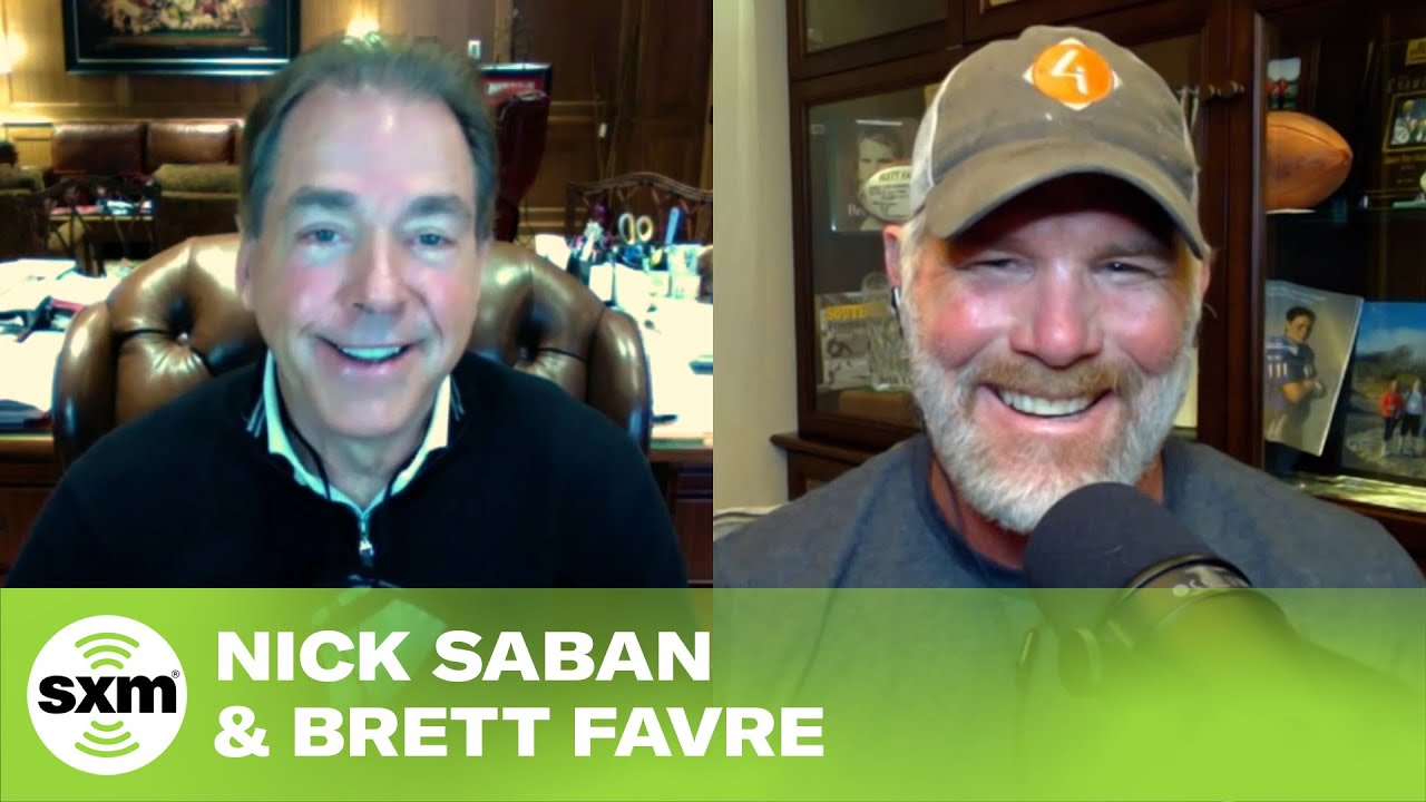 Brett Favre & Nick Saban Answer When Devonta Smith May Go in the Draft