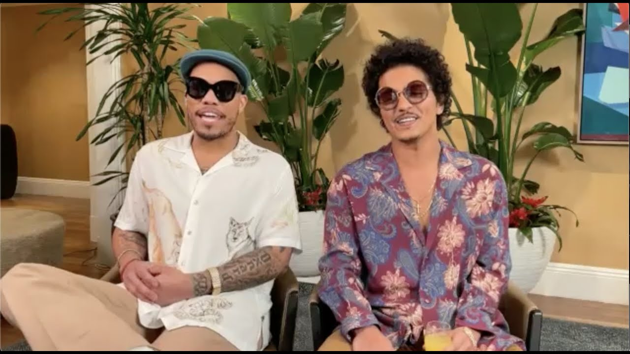Bruno Mars & Anderson Paak Talk About New Album As Silk Sonic With Big Boy