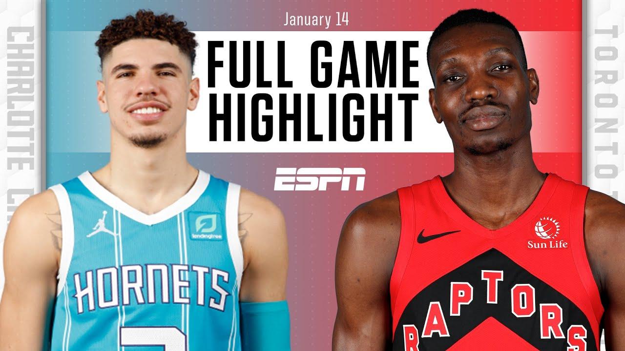 Charlotte Hornets vs. Toronto Raptors [FULL GAME HIGHLIGHTS]   NBA on ESPN