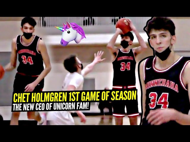 Chet Holmgren Shows His HANDLES & Guard Skills In 1st Game of The Season! The NEW CEO of UNICORN Fam