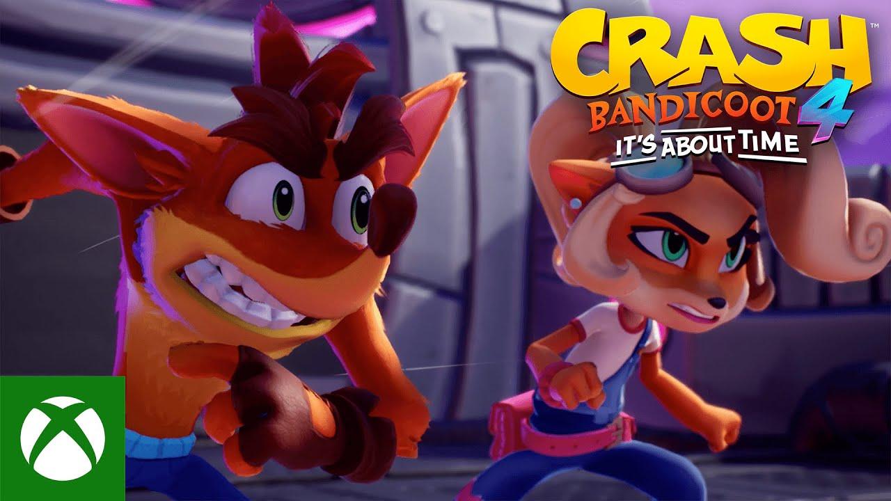 Crash Bandicoot™ 4: It's About Time – Launch Trailer