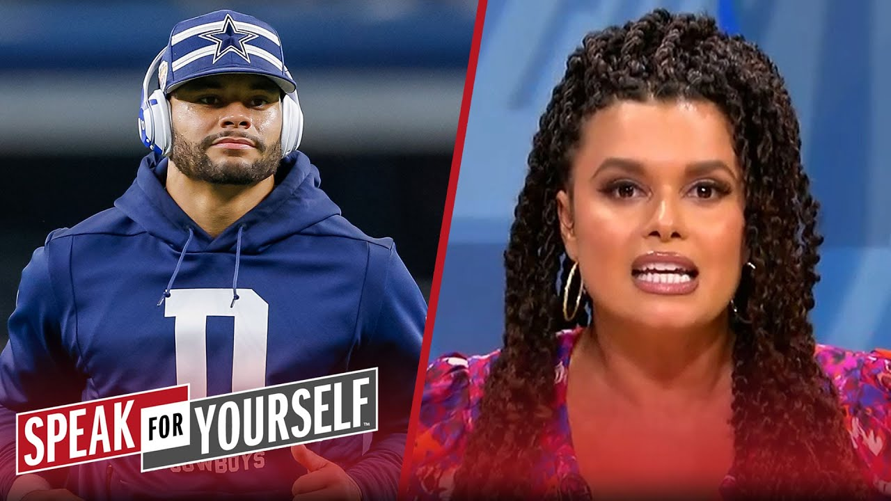 Dak has all the leverage in his contract negotiations — Joy Taylor | NFL | SPEAK FOR YOURSELF