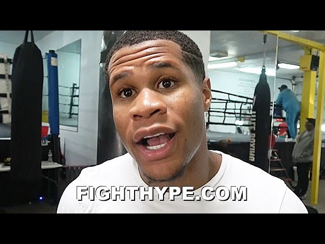 "DEVIN HANEY SOUNDS OFF ON LOMACHENKO ""FINALLY INTEREST"", LINARES, & ""NOT RULING OUT"" RYAN & TANK"
