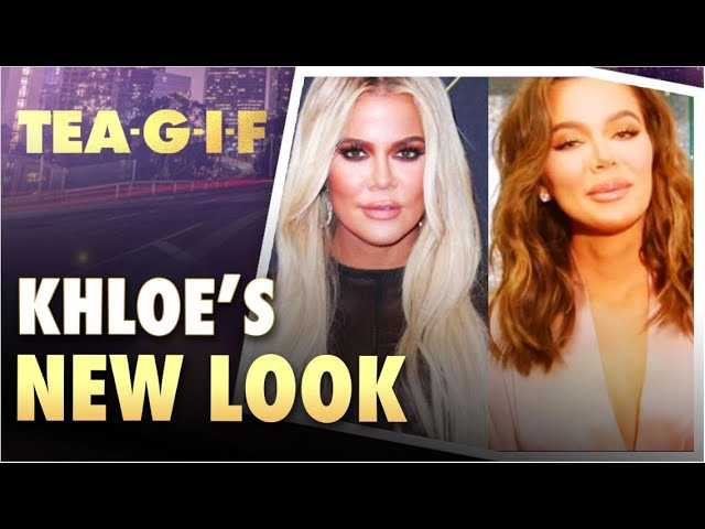 Does Khloe Have a new Look? | Claudia Jordan is in The Hot Seat | Tea-G-I-F