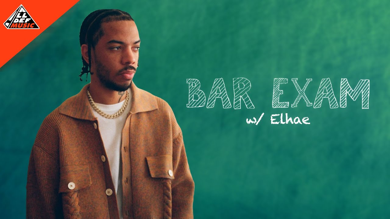 Elhae Takes the 'Bar Exam' | All Def Music