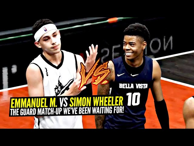 Emmanuel Maldonado vs Simon Wheeler Gets HEATED!! The GUARD MATCH-UP WE'VE BEEN WAITING FOR Pt. 1!!