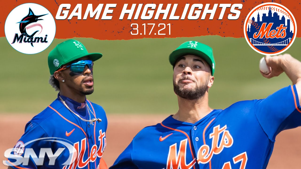 Francisco Lindor's bat stays hot, Mets go down to Marlins 3-2 in walk-off fashion | Mets | SNY
