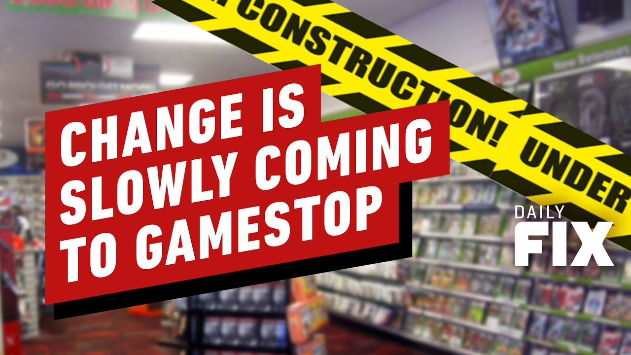GameStop Slowly Changing After Wild Stock Market Ride – IGN Daily Fix