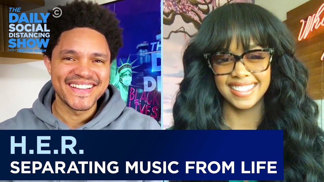 H.E.R. – Tackling Tough Topics in Music & Keeping Life Private | The Daily Social Distancing Show