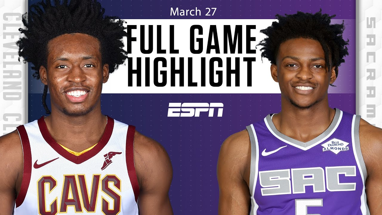 Harrison Barnes hits buzzer-beating 3 in Cavaliers vs. Kings [FULL GAME HIGHLIGHTS] | NBA on ESPN
