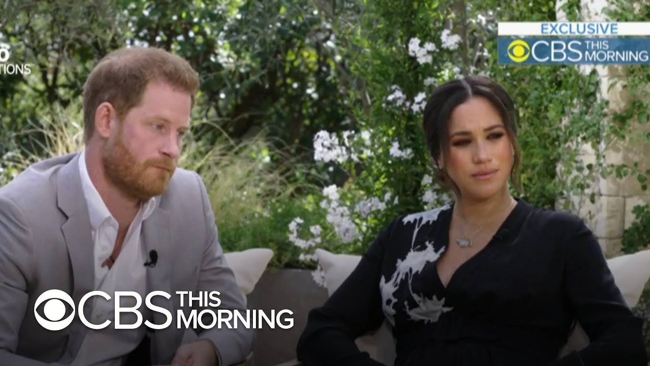 Harry and Meghan on how race factored into their U.K. press coverage