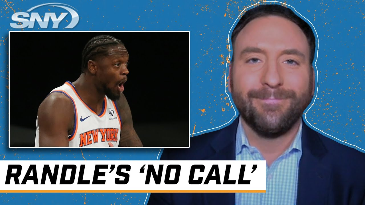 Ian Begley breaks down Julius Randle's 'no call' and Immanuel Quickley's first start | Knicks | SNY