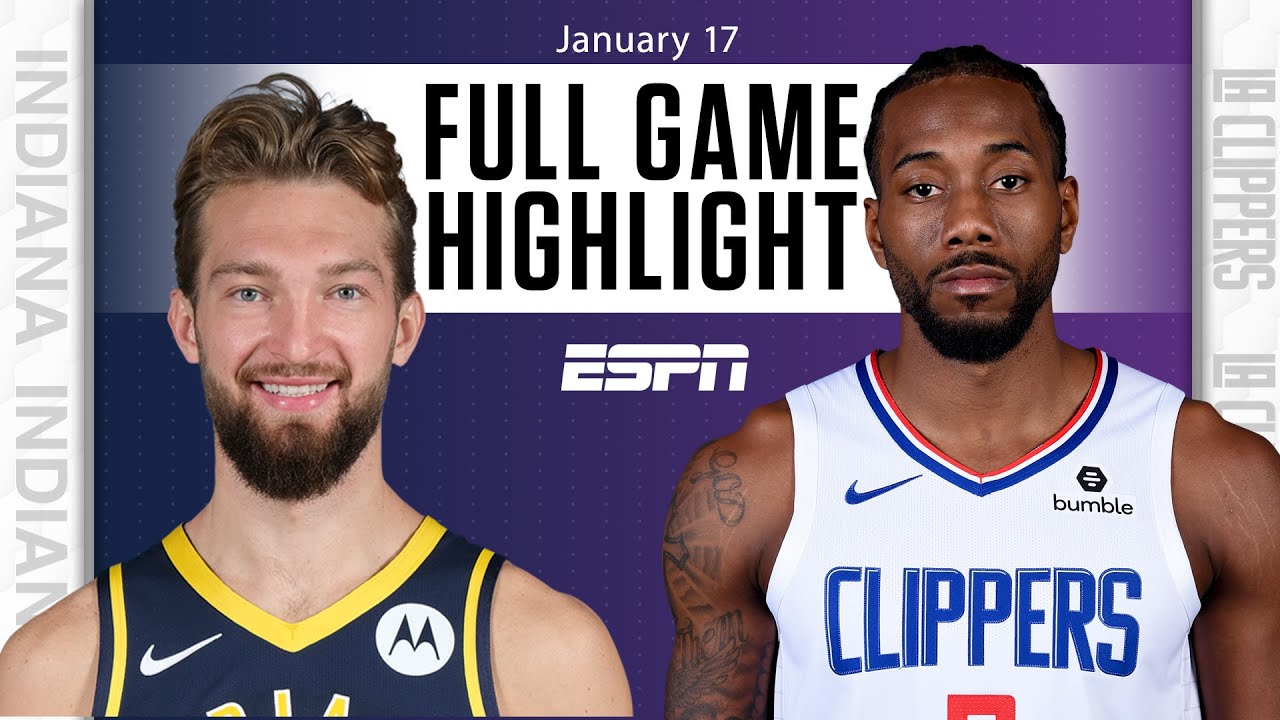 Indiana Pacers vs. LA Clippers [FULL GAME HIGHLIGHTS] | NBA on ESPN