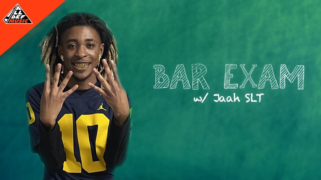 Jaah SLT Takes the Bar Exam | All Def Music