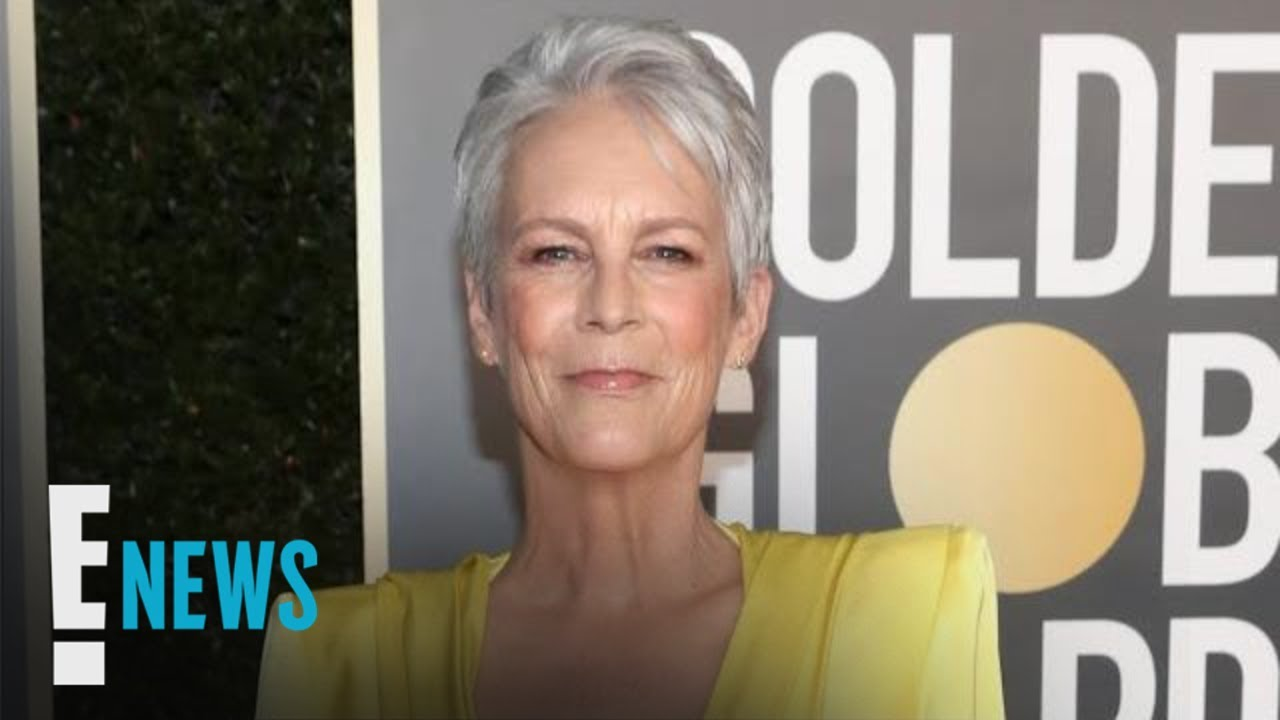 Jamie Lee Curtis Reacts to Viral 2021 Golden Globes Look | E! News