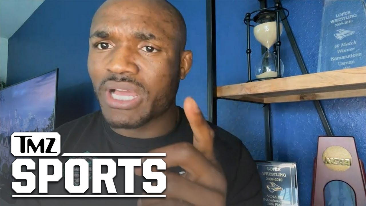 Kamaru Usman Talks About His Beefs With Colby Covington | TMZ Sports