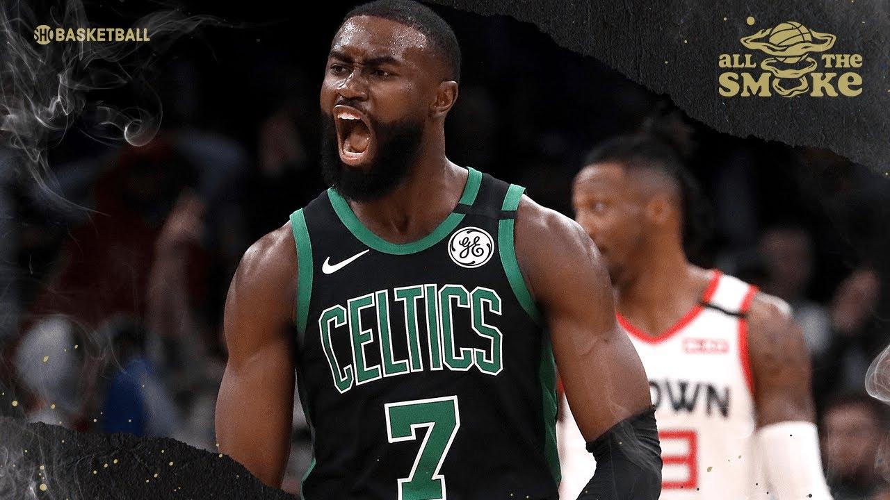 Kendrick Perkins on Jaylen Brown's Improvement & Brooklyn's Defensive Issues | SHOWTIME Basketball