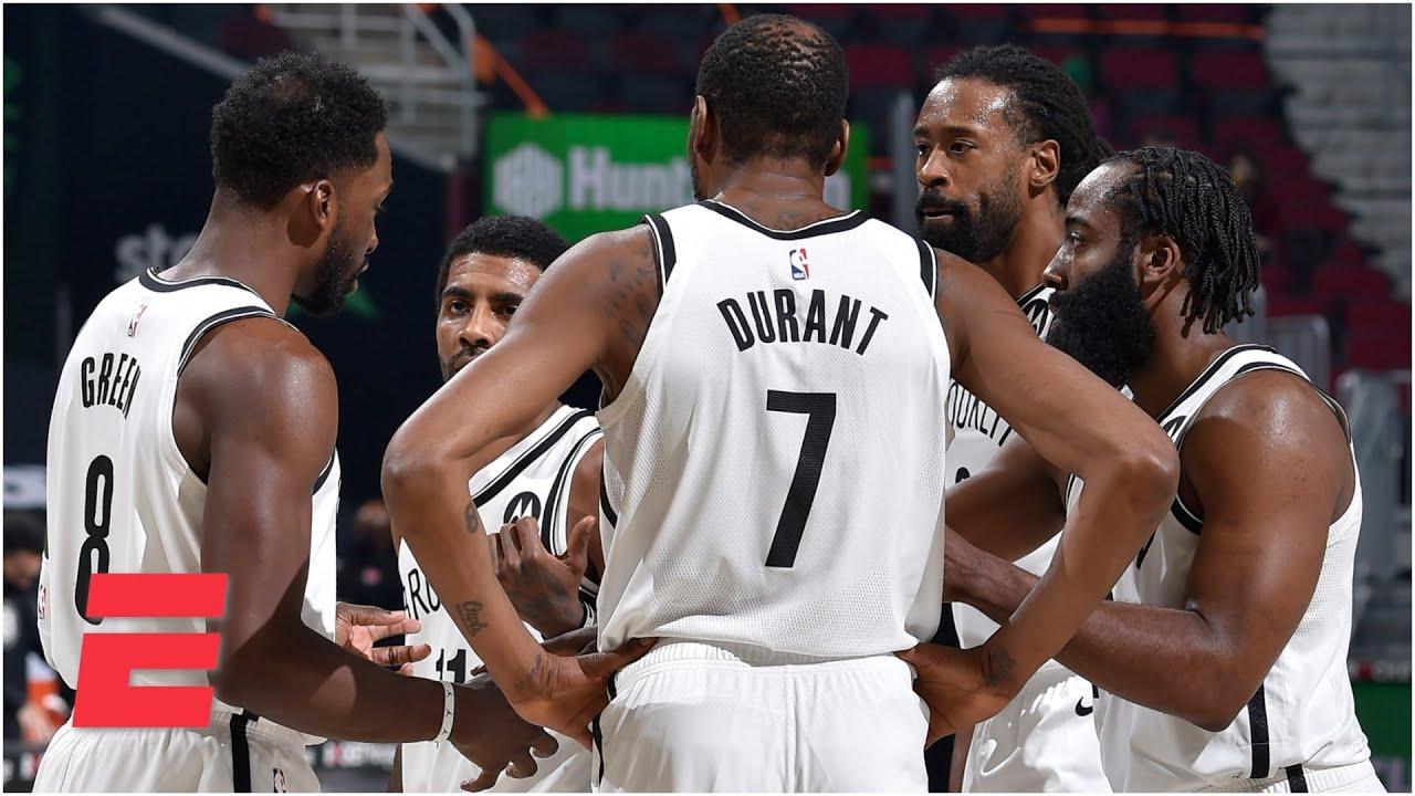 Kendrick Perkins: The Nets' Big 3 has to get other players involved!   SportsCenter