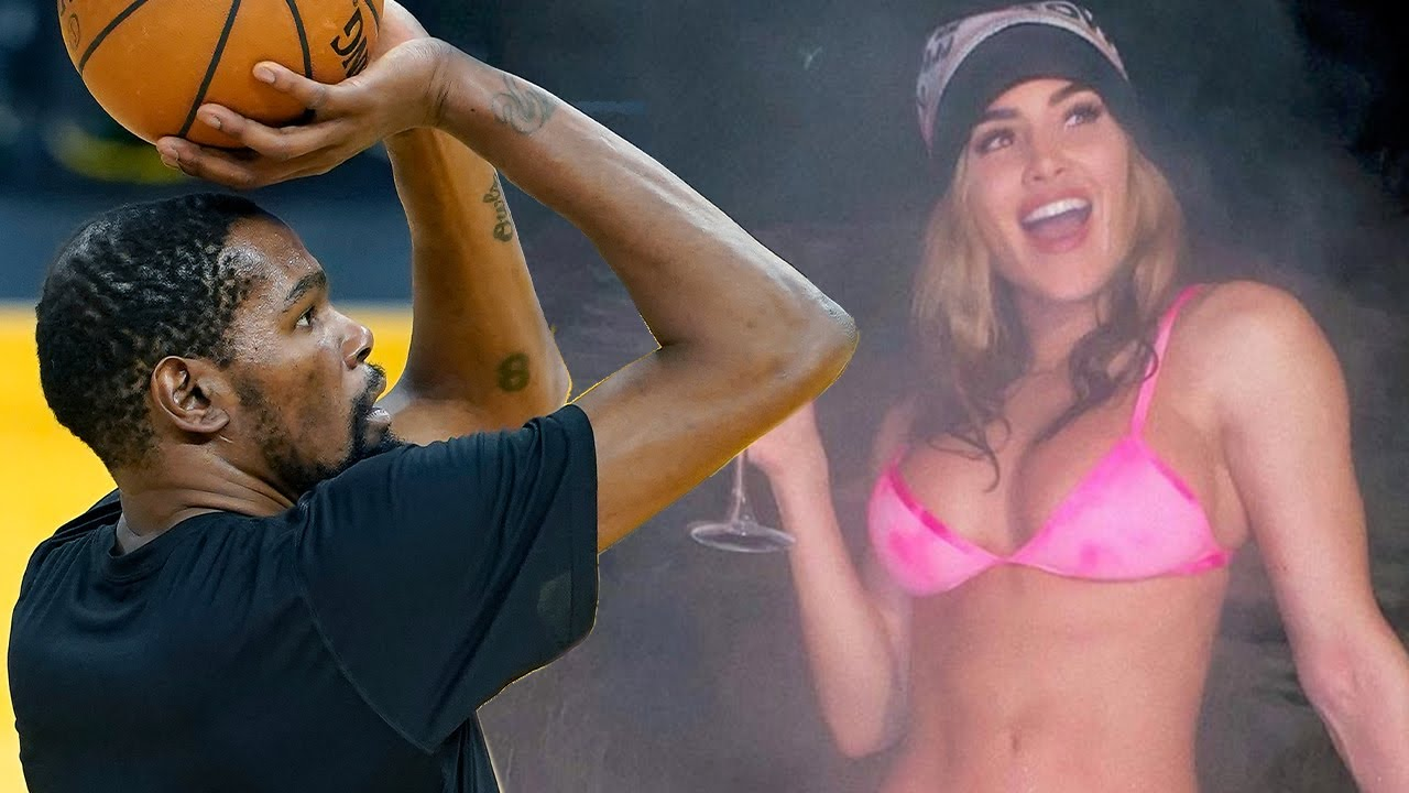 Kevin Durant Caught Shooting His Shot At NFL DE Julius Peppers' Super Hot Wife