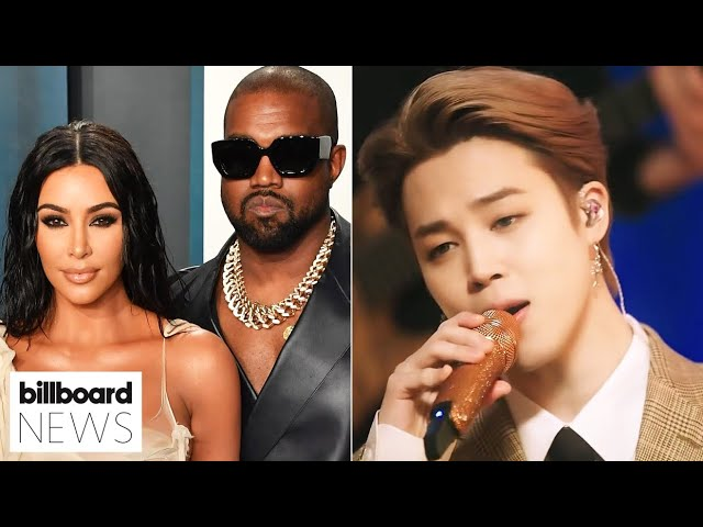 Kim Kardashian & Kanye West Divorce, Sneak Peek at BTS' MTV Unplugged Special | Billboard News