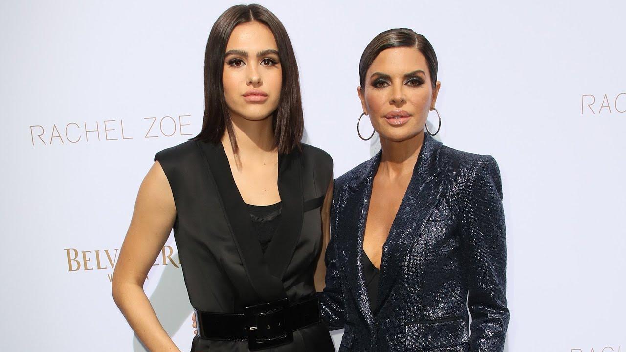 Kim Kardashian & Lisa Rinna CLAP BACK At Haters On Daughter Amelia Hamlin's Lingerie Photos