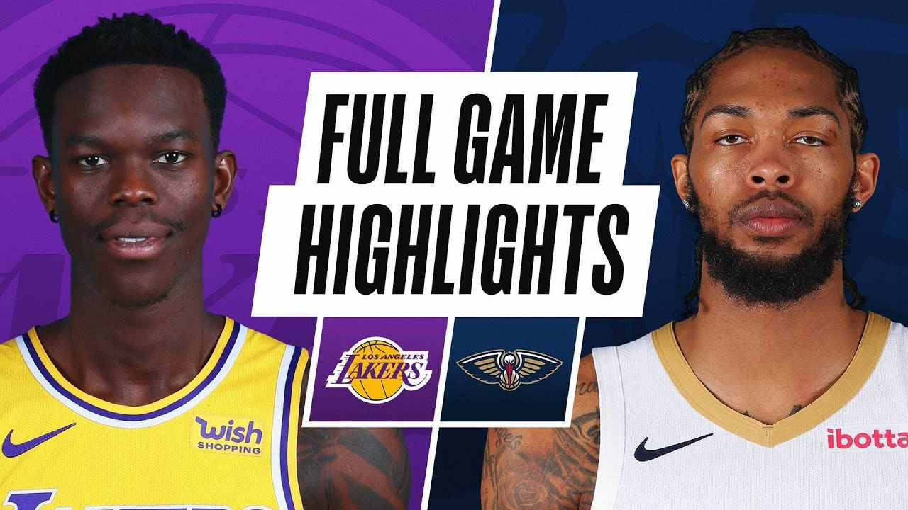 LAKERS at PELICANS   FULL GAME HIGHLIGHTS   March 23, 2021