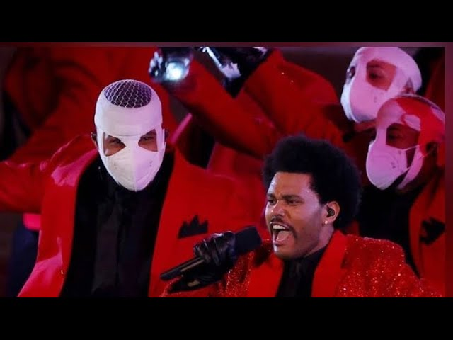 M.Reck & Da Earth Live|The Weeknd Spooky Performance At Super Bowl LV