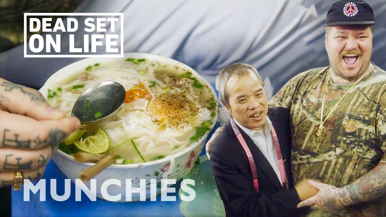 Matty Eats Pho & Other Vietnamese Street Eats In Hanoi