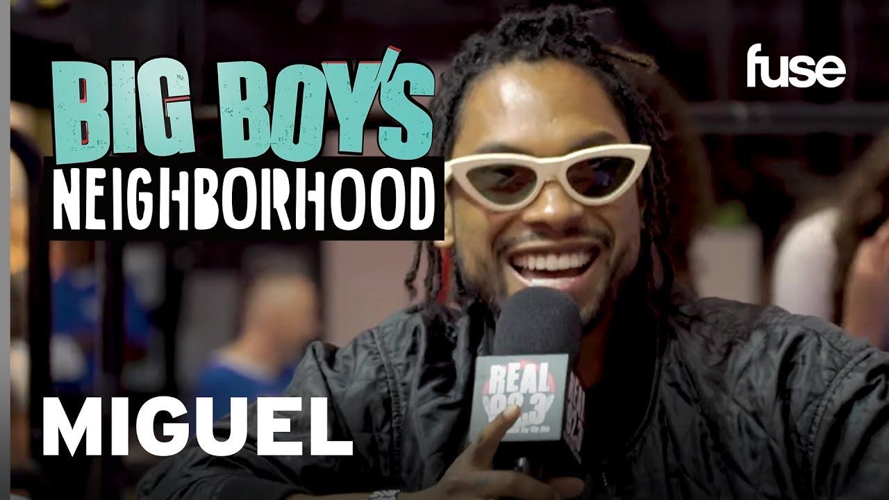 Miguel Hints at New Projects Including A TV Sitcom | Big Boy x Fuse