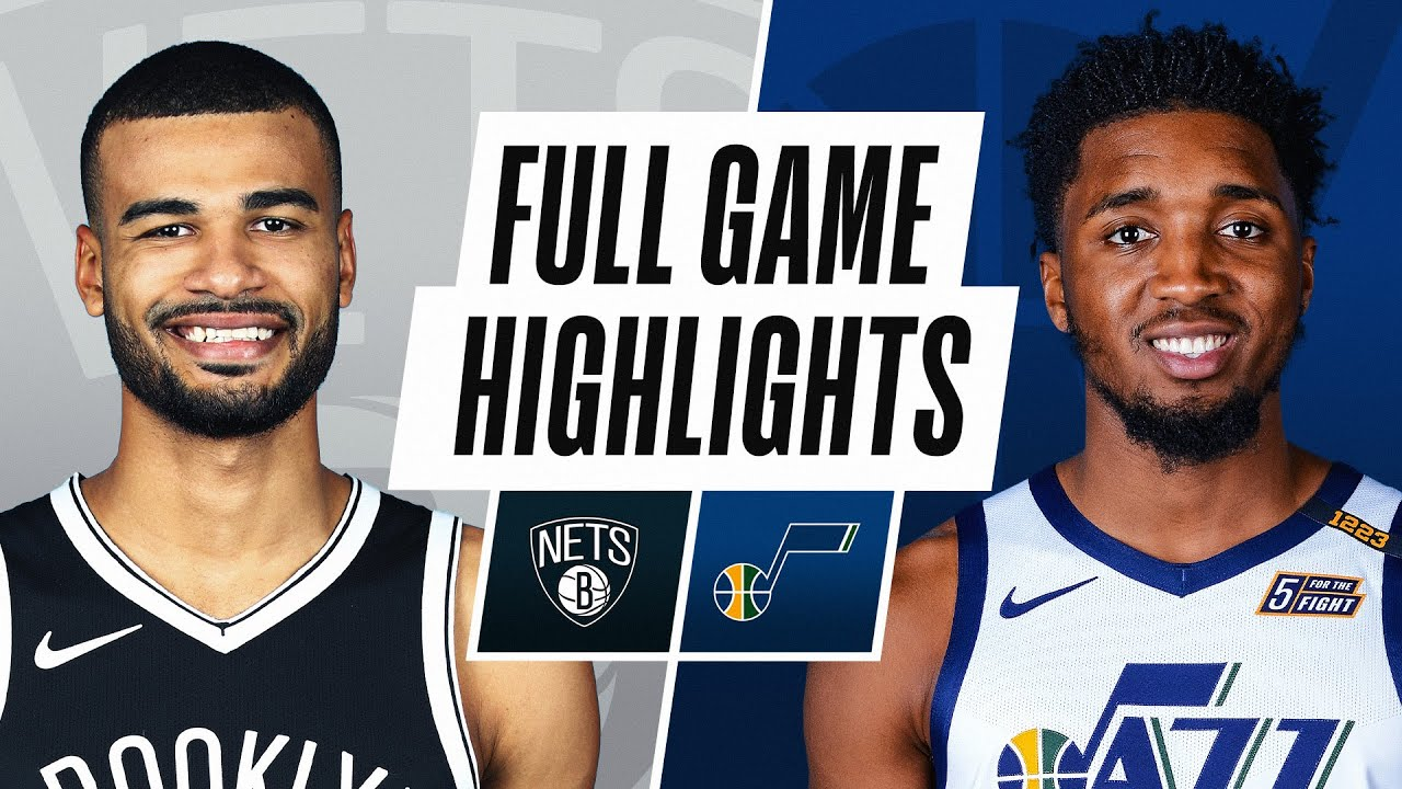 NETS at JAZZ | FULL GAME HIGHLIGHTS | March 24, 2021