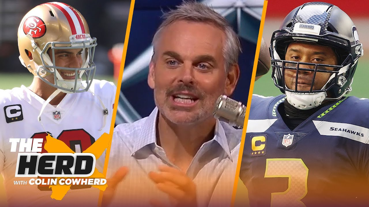 'Pete has no interest in Russ' thoughts'; talks Jimmy G, 49ers & Patriots — Colin   NFL   THE HERD