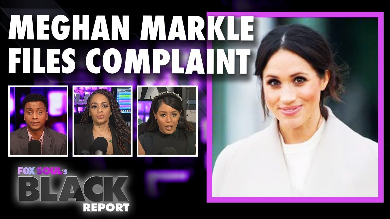 Piers Morgan in HOT WATER After Meghan Markle Files Formal Complaint | FOX SOUL's Black Report
