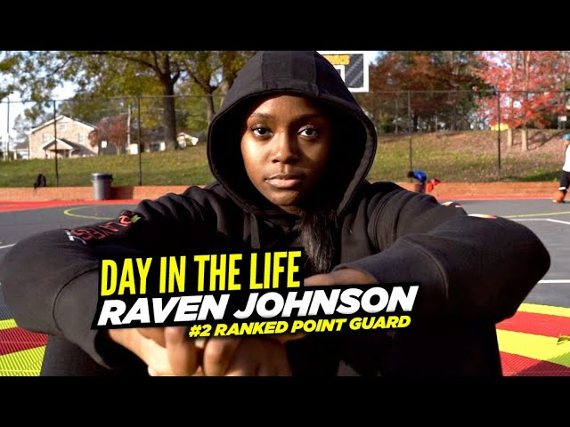 Raven Johnson Is Atlanta's NEXT GREAT POINT GUARD! | Day In The Life!