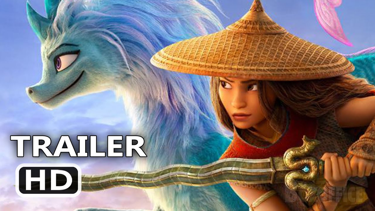 RAYA AND THE LAST DRAGON Super Bowl Trailer (NEW 2021) Disney Animation Movie HD