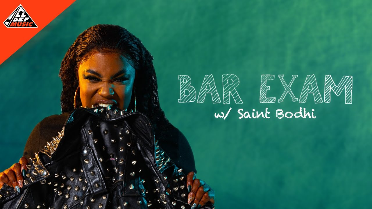 Saint Bodhi takes the 'Bar Exam' | All Def Music