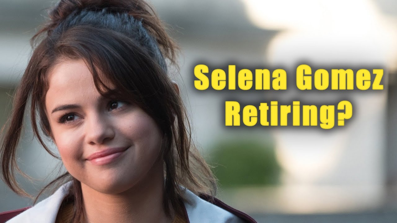 Selena Gomez Reveals Why She's Retiring From Music In The Future