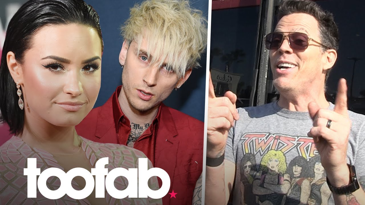 Steve-O Calls Out Demi Lovato And Machine Gun Kelly To Do 8 X 10 Challenge | toofab