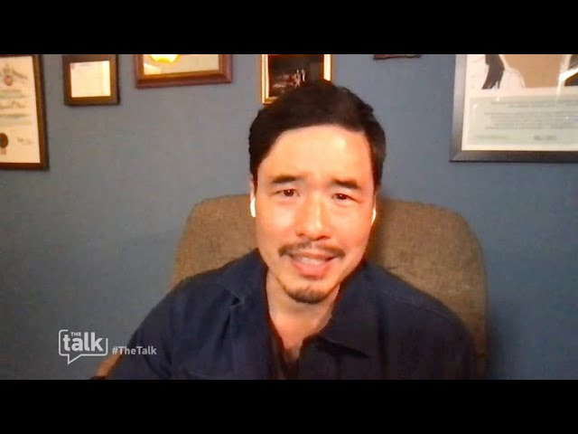 The Talk – Randall Park Learns He Was 'vaccinated against Covid' After Trial