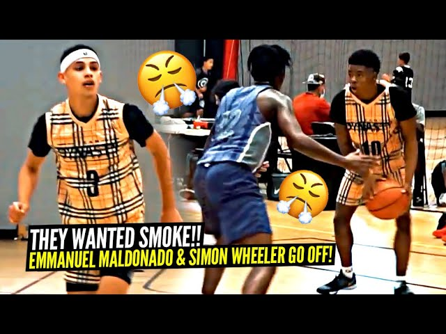 They Wanted SMOKE vs Emmanuel Maldonado & Simon Wheeler!! The BURBERRY Jerseys CAME OUT!!